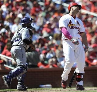 Matt Holliday, Wilin Rosario