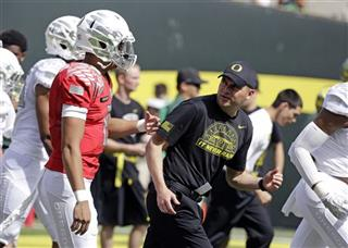 Mark Helfrich, Marcus Mariota