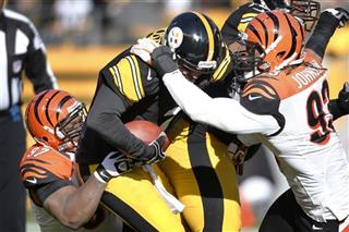 Ben Roethlisberger, Geno Atkins, Michael Johnson