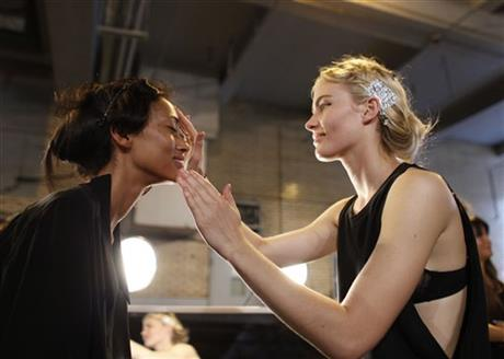 Fashion Edun Spring 2013 Backstage