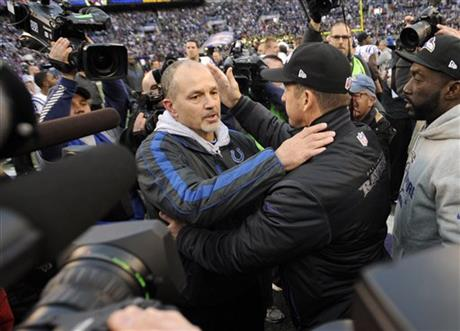 Chuck Pagano, John Harbaugh