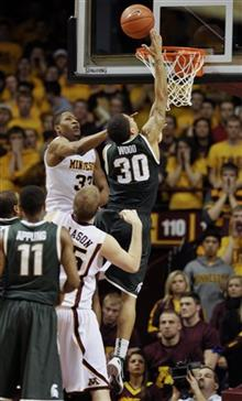 Michigan St Minnesota Basketball