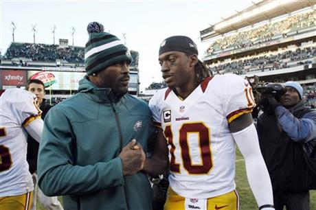 Michael Vick, Robert Griffin III
