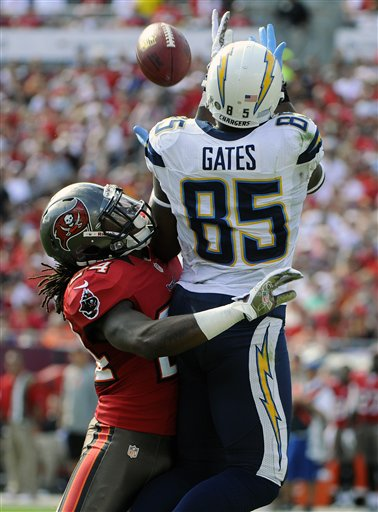 Mark Barron, Antonio Gates