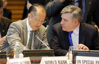 Gordon Brown, Jim Yong Kim