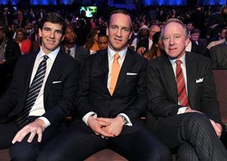 Eli Manning, Peyton Manning, Archie Manning