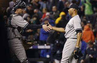 Austin Romine, Mariano Rivera