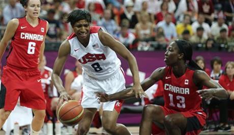 Angel McCoughtry, Tamara Tatham