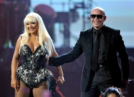 Christina Aguilera, Pitbull