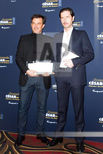 Cesar 2020 - Nominee Luncheon At Le Fouquet S