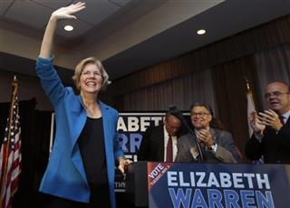 Elizabeth Warren, Al Franken, Jim McGovern