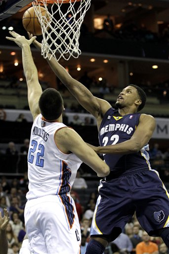 Byron Mullens, Rudy Gay