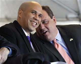 Chris Christie, Cory A. Booker
