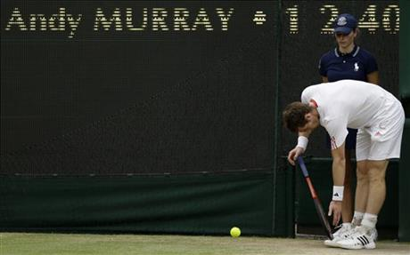 London Olympics Tennis Britain Murray