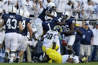 Michigan Penn St Football