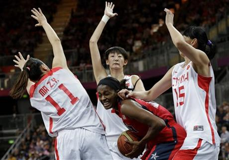 Swin Cash, Ma Zengyu, Wei Wei, Chen Nan
