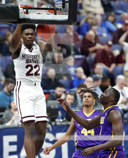 SEC LSU Mississippi St Basketball