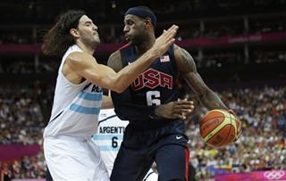 LeBron James, Luis Scola