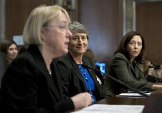 Sally Jewell, Patty Murray, Maria Cantwell