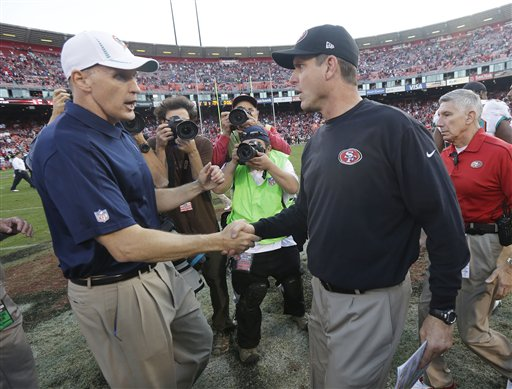 Jim Harbaugh, Joe Philbin