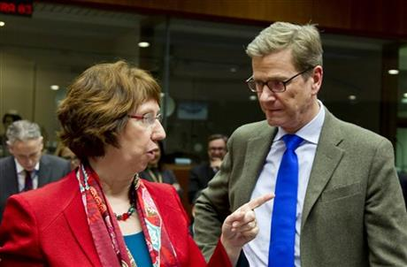 Guido Westerwelle, Catherine Ashton