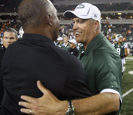 Rex Ryan, Marvin Lewis