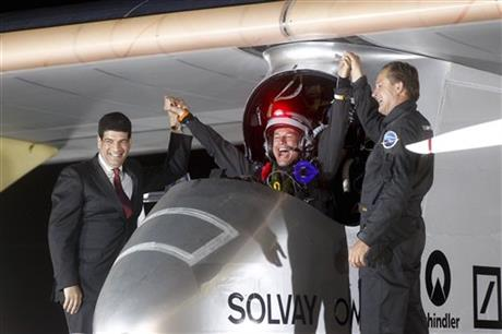 Bertrand Piccard, Andre Borschberg, Mustapha Bakkoury