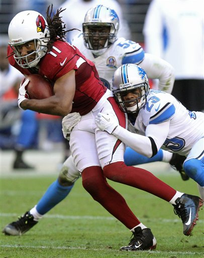 Larry Fitzgerald, Chris Houston