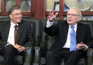 Bill Gates, Warren Buffett