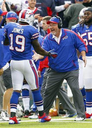 Donald Jones, Chan Gailey
