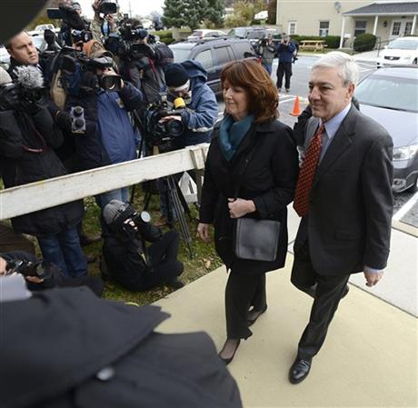 Graham Spanier, Sandra Spanier