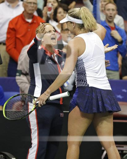 Fed Cup Netherlands US Tennis