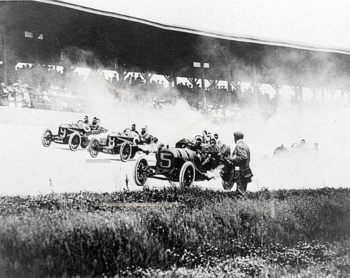 Associated Press Sports Indiana United States Auto Racing INDY 500 FIRST RACE 1911