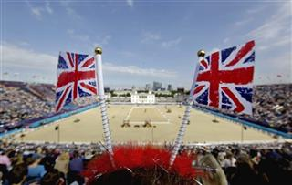 APTOPIX London Olympics Equestrian