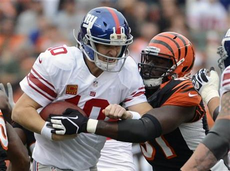 Eli Manning, Robert Geathers