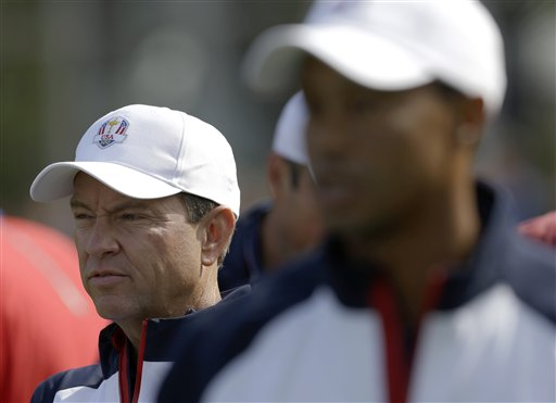 Davis Love III, Tiger Woods