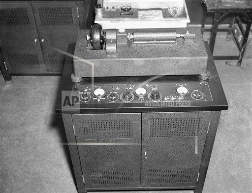 Watchf Associated Press Domestic News  New York United States APHS128502 AP Wirephoto Equipment 1937
