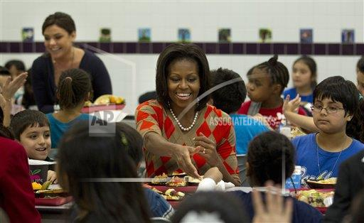 Michelle Obama School Lunches
