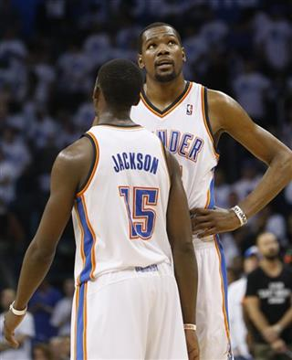 Kevin Durant, Reggie Jackson