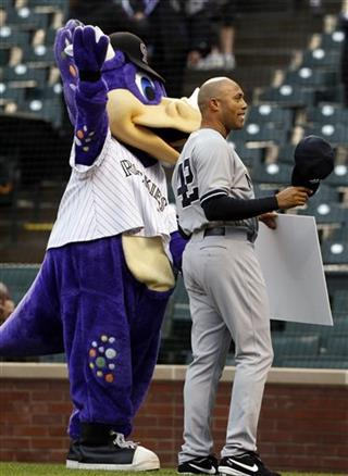 Dinger the dinosaur, Mariano Rivera