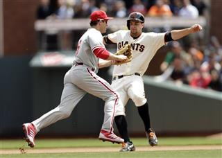 Brandon Belt, Chase Utley