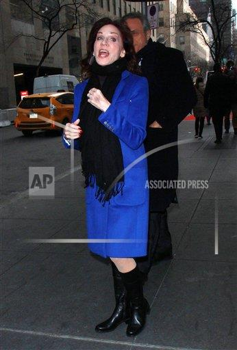 PGroup RW/MediaPunch/IPx A ENT New York USA IPX Marilu Henner Seen In NYC