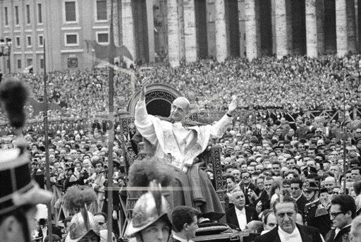 Watchf Associated Press International News   Italy Vatican APHS182316 Paul VI Easter Message 1964