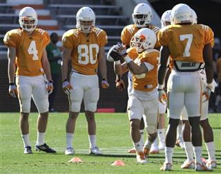 Tennessee Receivers Football