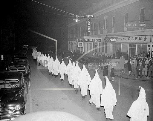 Associated Press Domestic News Georgia United States KKK DEMONSTRATION 1948