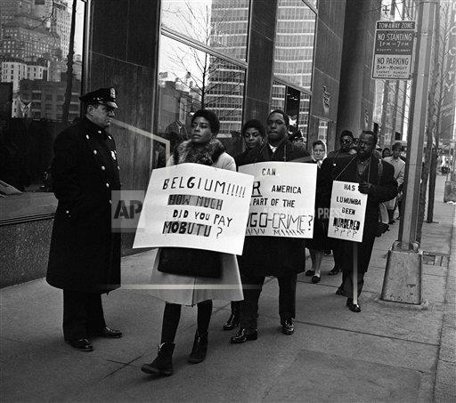 Watchf AP A  NY USA APHS366179 Demostration for Lumumba
