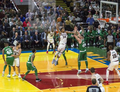 Celtics Bucks Basketball