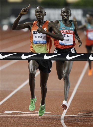 Wilson Kiprop, Moses Ndiema Masai
