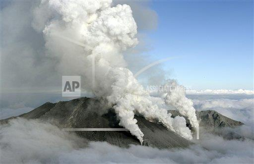 Central Japan volcano Mt. Ontake erupts