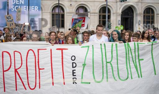 """Climate demonstration """"Fridays for Future"""""""
